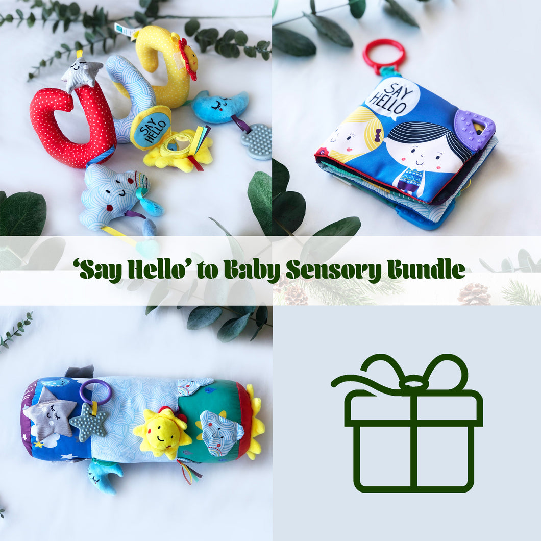 'Say Hello' to Baby Sensory Bundle