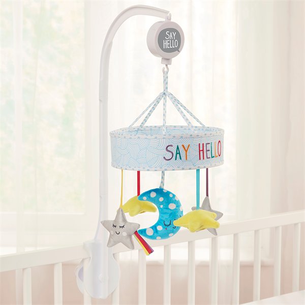 'Say Hello' Starry Sky Cot Mobile