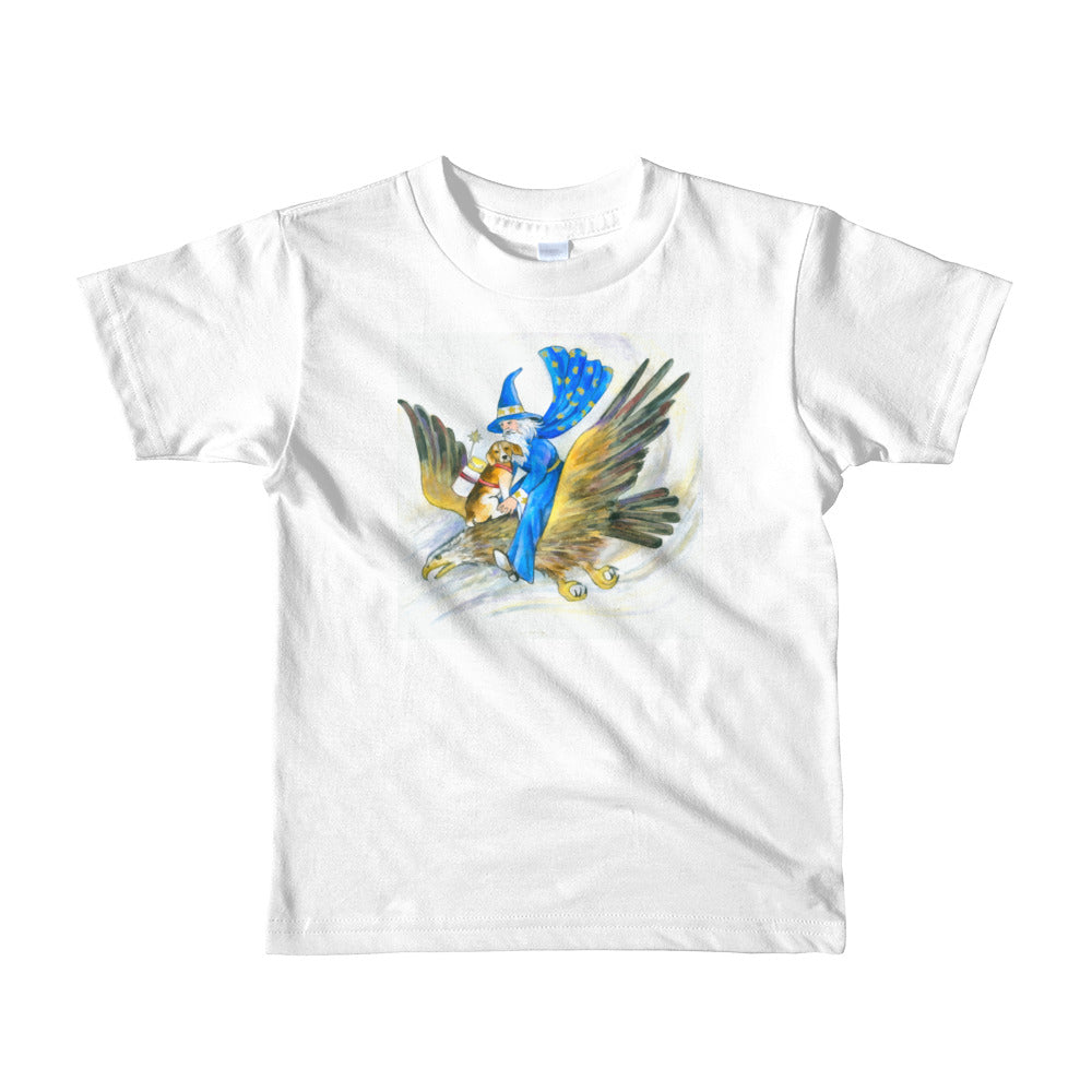 Wizard & the Eagle Short sleeve kids t-shirt