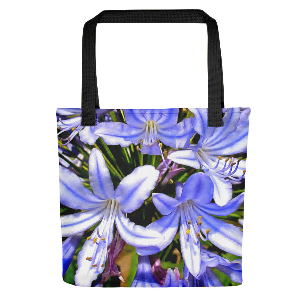 Flowers lavander Tote bag