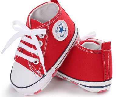 Newborn baby Sneakers canvas Soft Bottom anti-slip