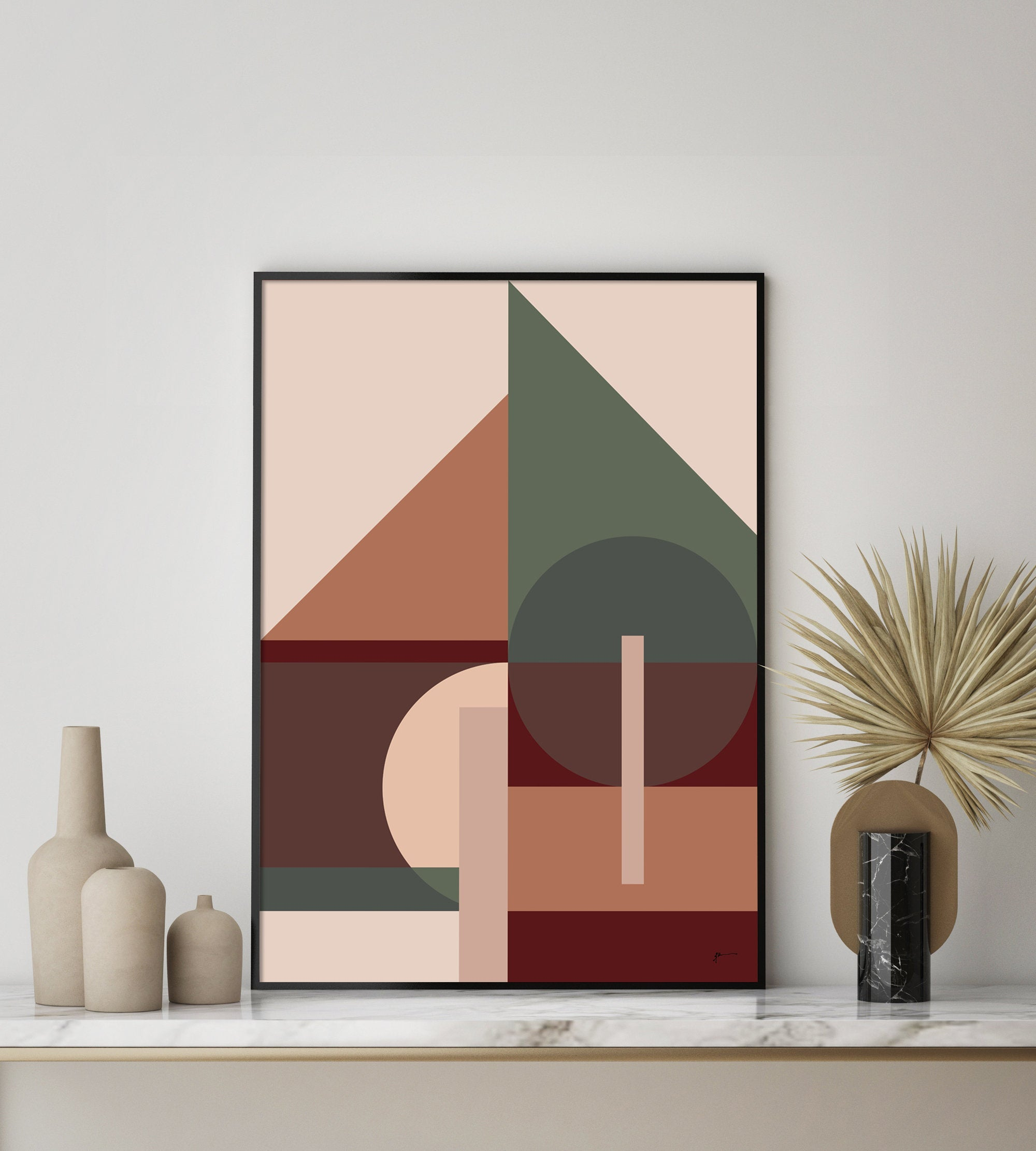 modern abstract art print