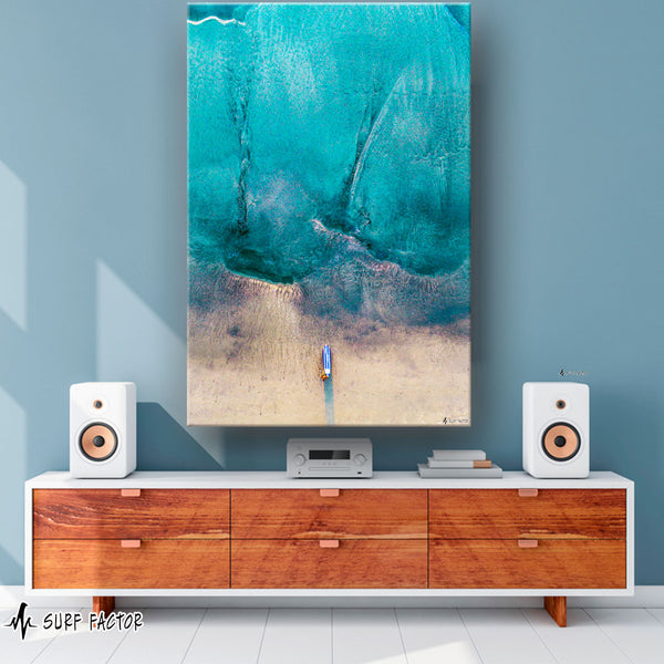 Aquaholic on Canvas