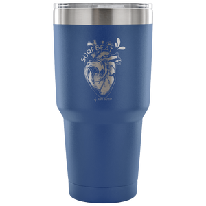 The Surfbeat - 30 Ounce Vacuum Tumbler
