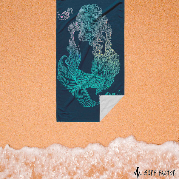 Mermaid Beach Towel