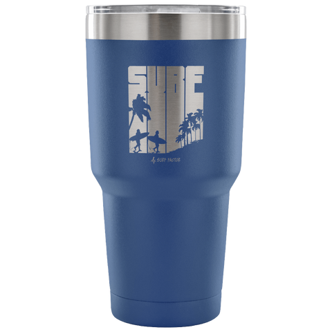 Surf Time - 30 Ounce Vacuum Tumbler