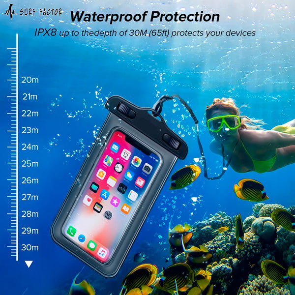 Surfari Cell™ - The Waterproof Universal Phone Case