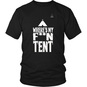 Where Is My F**N Tent