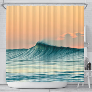 Smooth Beauty Shower Curtain