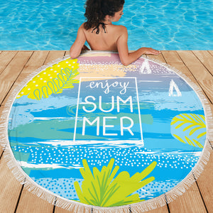 Enjoy Summer Beach Towel