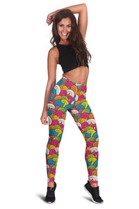 Psychedelic Waves Leggings