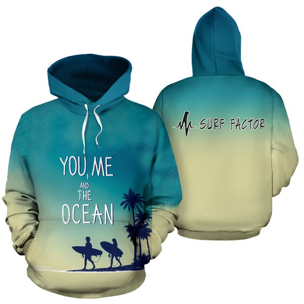 You, Me And The Ocean Hoodie