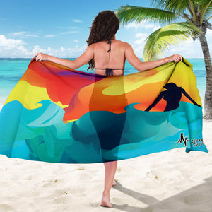 Breaking The Waves Sarong