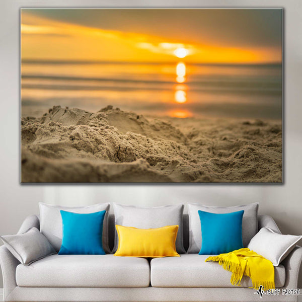 Sand Awakens On Canvas