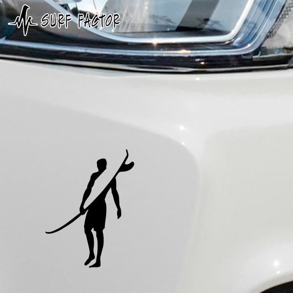 Cool Surfer Sticker