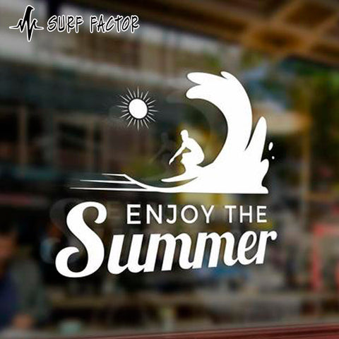 Enjoy The Summer Sticker