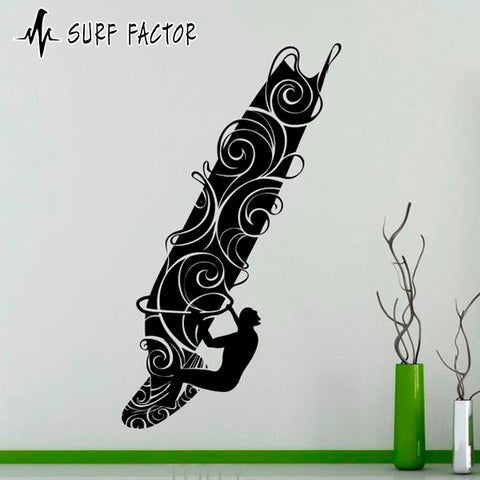 Wind Surf Sticker
