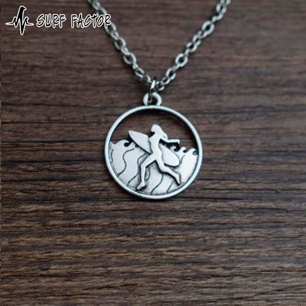 Surf Girl Pendant