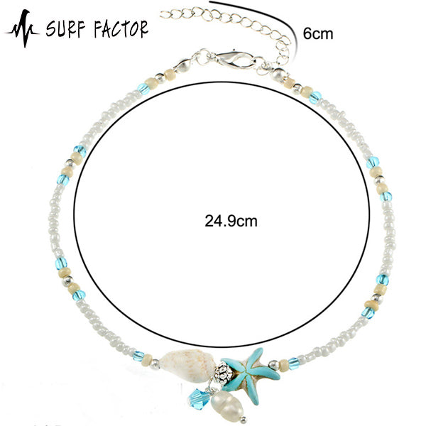 Starfish Beach Anklet