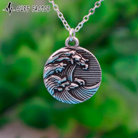 Powerful Wave Pendant