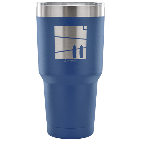 Let's Surf Together - 30 Ounce Vacuum Tumbler