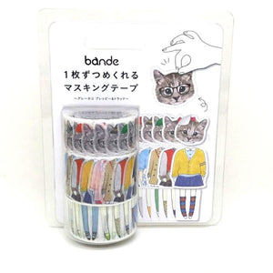 Bande   Cats stickers Washi tape
