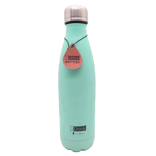 BOTTIGLIA TERMICA 500 ML. I-DRINK GREEN MATTE