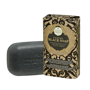 NESTI DANTE LUXURY BLACK SOAP SAPONE NERO 250G