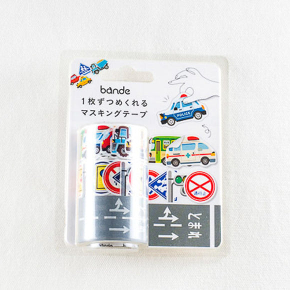 Bande Automobile Roll Sticker Washi
