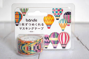 Bande Balloon Roll Sticker Washi tape