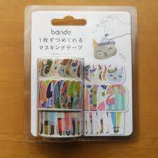 Bande Cat with Hat Washi Tape