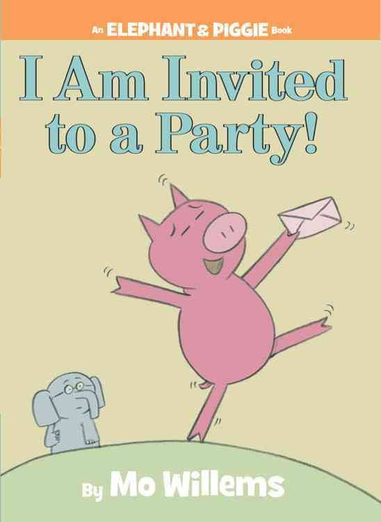 I am invited to a party autore Mo Willems