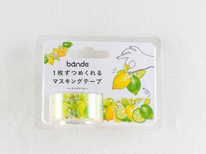 Bande Lime & Lemon  Washi tape