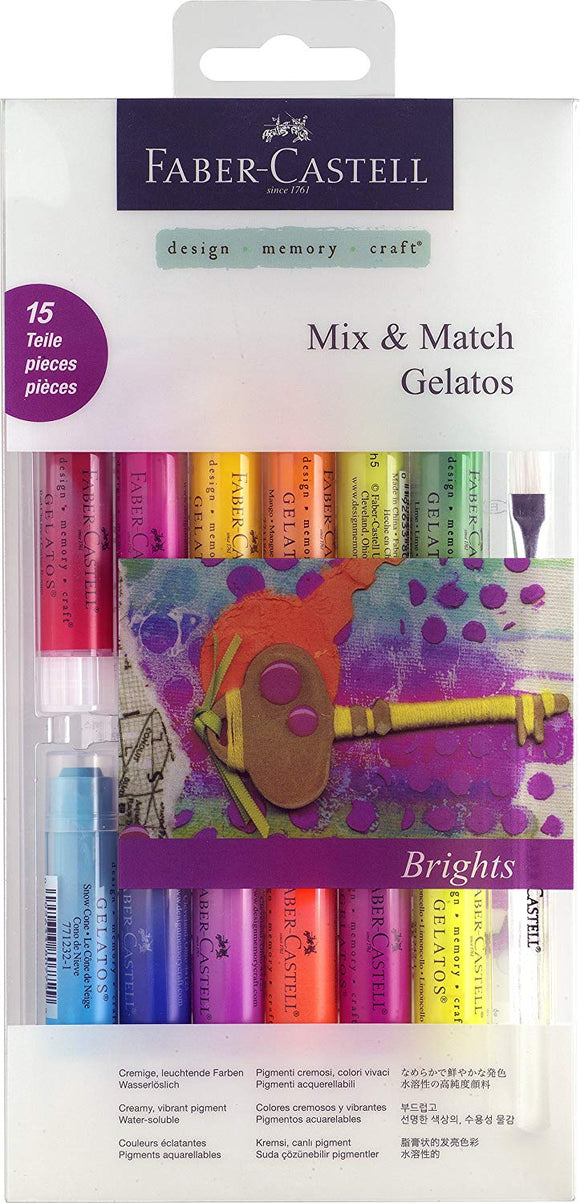 Faber-Castell Gelatos set regalo (confezione da 33) P1 Mix and Match - matita - Bright