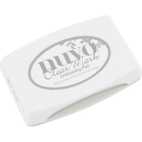 Nuvo Ink Pads Clear Mark Embossing Pad Tonic Studios