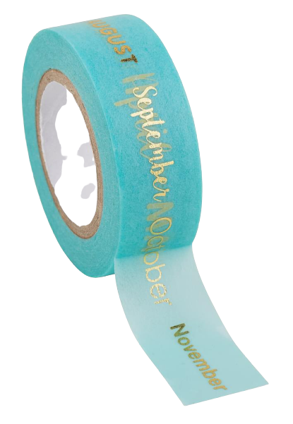 Washi tape Rico Paper Poetry Tape   mesi
