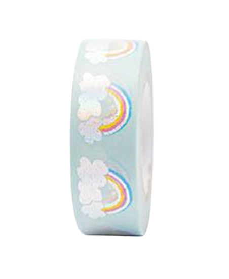Washi tape Rico Paper Poetry Tape raimbow
