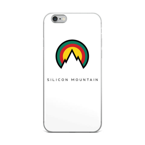 Silicon Mountain Phone Case v2