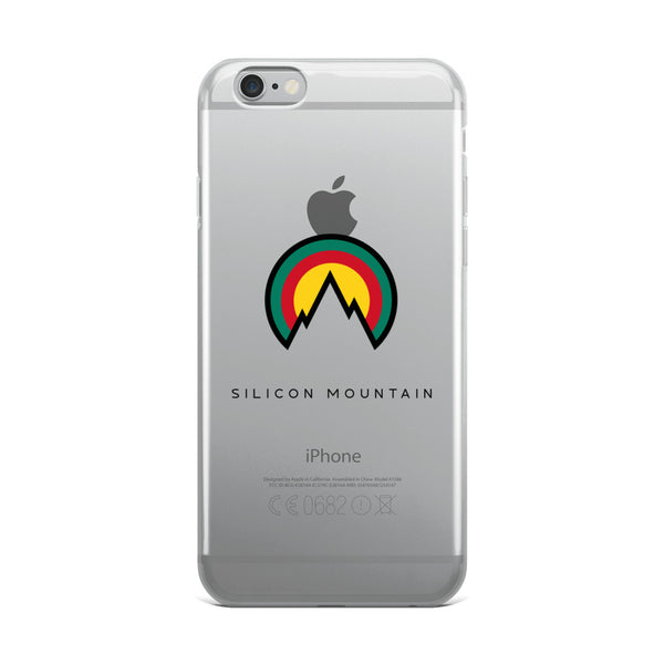 Silicon Mountain iPhone Case