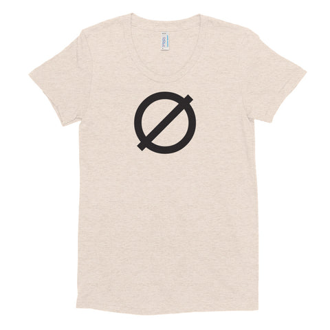 Zero Women's Crew Neck T-shirt
