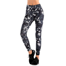 Load image into Gallery viewer, Women Super Elastic High Waist Leggings Fashion Print Slim Pants for Fitness Workout Ankle-Length Camouflage Pants T6
