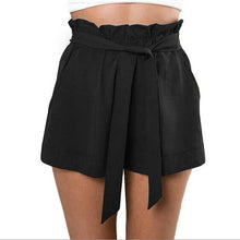Load image into Gallery viewer, Fashion Woman Shorts  Women Casual Design High Waist Loose Fashionable Shorts Female With Belt  Szorty#LSJ