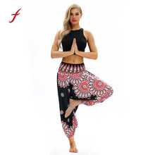Load image into Gallery viewer, 2018 hot selling women clothing Loose Trousers Women Casual Summer Baggy Boho Aladdin style breathable Elasticity Harem Pants