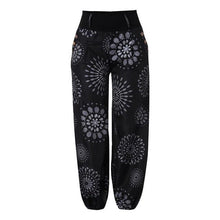 Load image into Gallery viewer, Plus Size 5XL Harem Pants Bohemian Vintage Womens Clothing Button Pocket Loose Pants Print Women Clothes Vintage Trousers Women