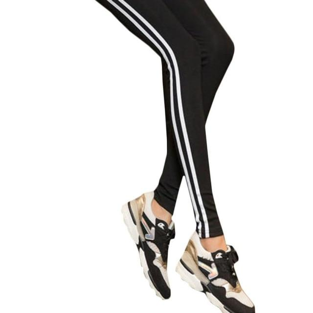 Women Lady Black Legging  light grey Pant Activewear Spring Summer Autumn Mid Waist Leggins Y6