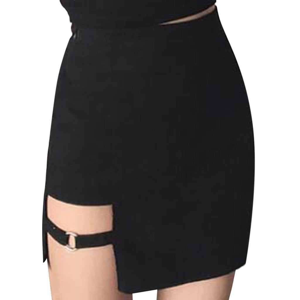 2019 New Arrival Style Skirt Women Ladies Fashion Sexy Style  Split Mini Skirt Casual For Female #55