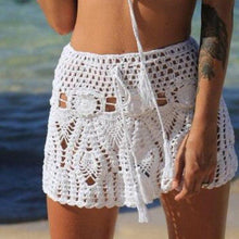 Load image into Gallery viewer, Fashion women skirt Women Tankini Lace Short Skirt Beachwear  Ladies Swimwear Swimskirt