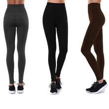 Load image into Gallery viewer, High-Waisted Premium Quality Fleece Lined Leggings (S-4X)