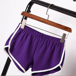 Summer NEW Women Sports Shorts Gym Workout  Skinny  Waistband Short Fitness