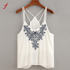 2019 high quality tank top women summer sleeveless top female casual T-shirt loose t shirt white sexy women summer tops